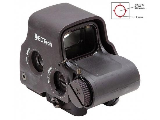 Прицел голографичесий коллиматорный EOTech 65 MOA ring, 1 MOA dot, QD lever, EXPS3-0 BLK (Черный)