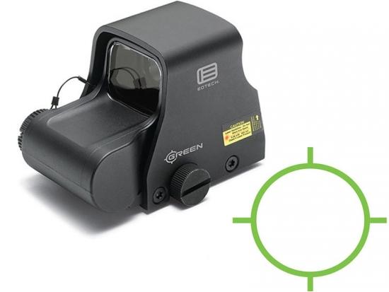 Прицел голографичесий коллиматорный EOTech 65 MOA ring, 1 MOA dot EXPS2-0 GRN