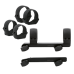 Кронштейн низкий Blaser Saddle Mount QD с кольцами 30 мм BR_30_low_QD_Alum (C8800016)