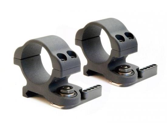 Кольца быстросьемные 30 мм ультра-низкие LaRue Tactical Mount QD LT719 (Low)