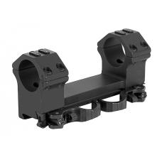 Кронштейн быстросъемный тактический ERA-TAC One-Piece Mount 30 мм 0 MOA 23 мм High Safety Levers T1013-0023