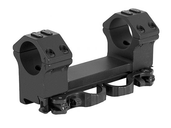 Кронштейн быстросъемный тактический ERA-TAC One-Piece Mount 30 мм 0 MOA 15 мм High Safety Levers T1013-0015