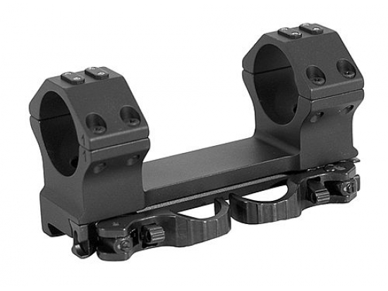 Кронштейн быстросъемный тактический ERA-TAC One-Piece Mount 30 мм 20 MOA 25 мм Safety Levers T1013-2025
