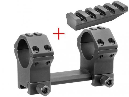 Кронштейн небыстросъемный монолитный Ультра короткий (без наклона) ERA-TAC 34 мм T2001-341A