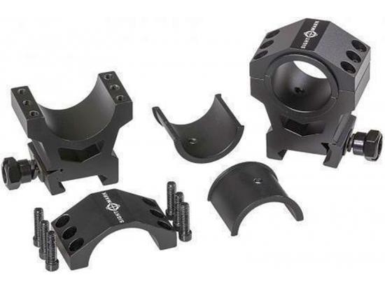 Тактические монтажные кольца 30 мм/1 дюйм Sightmark SM34007