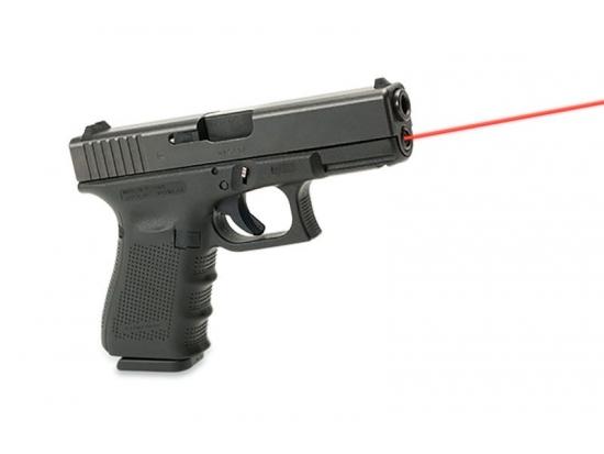 Лазерный указатель (прицел красный луч) для Glock 17/34 Gen 4 LaserMax (LMS-G4-17)