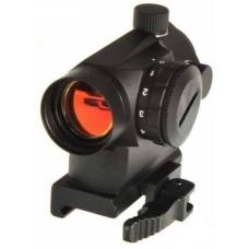 Коллиматорный прицел красная точка с быстросъемным креплением Mini Red Dot Sight RT5 F407427