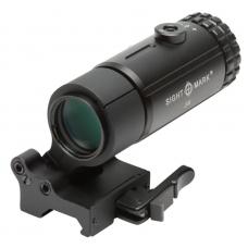 Увеличитель 3-х кратный с откидным кронштейном T-3 Magnifier with LQD Flip to Side Mount Sightmark SM19063