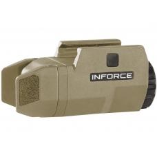 Фонарь тактический подствольный Inforce APLc 200 люмен белый свет (AC-05-1 / AC-06-1)