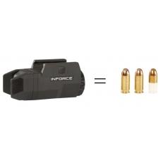 Фонарь тактический Inforce подствольный Inforce для Глок APLc Glock 200 люмен белый свет (ACG-05-1)