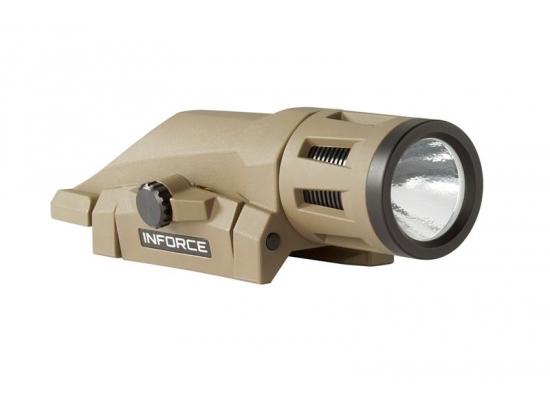 Фонарь тактический 400 люмен белый свет Inforce WML White - Gen 2 (W-06-1 FDE)