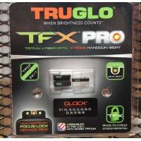 Мушка оптоволоконная - прицел TRUGLO TFX™ PRO (зеленый/красный ободок) для Glock (TG131GL1PC)